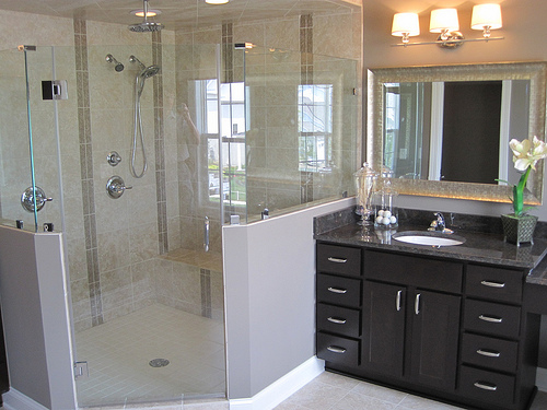 bathroom designs without bathtub - Bathroom Designs Without Bathtub